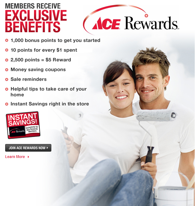Ace Rewards, hardware store billings mt