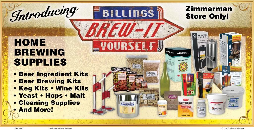 Billings Brew-It-Yourself
